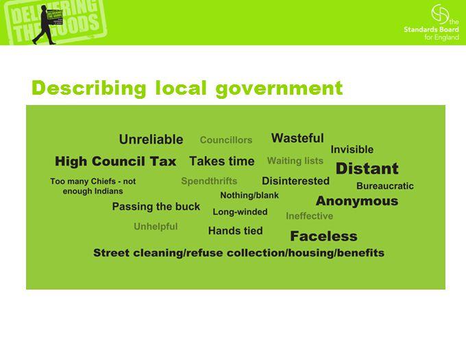 Describing local government