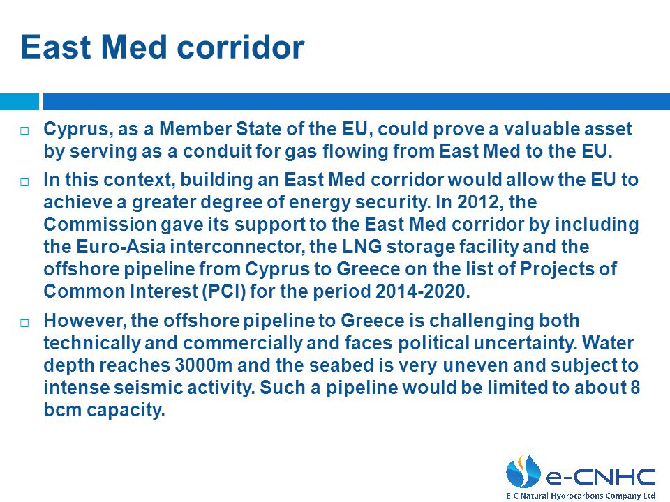 Cyprus - Noble's plans  Noble is considering in detail all possible export options for the Aphrodite gas field in Block 12 and presented their initia