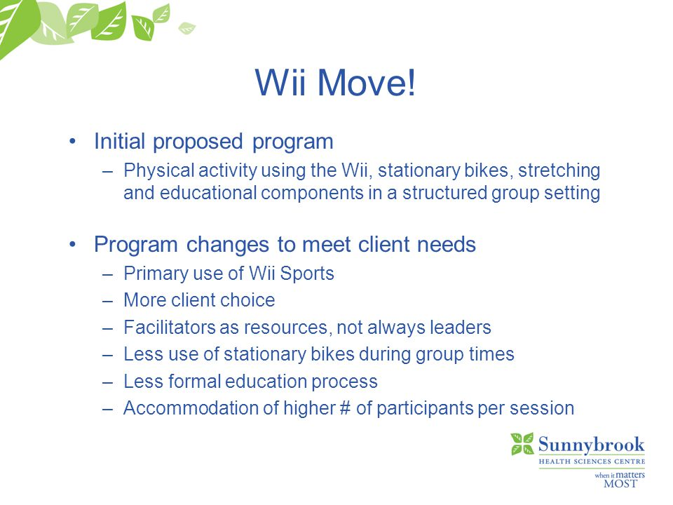 Wii Move.