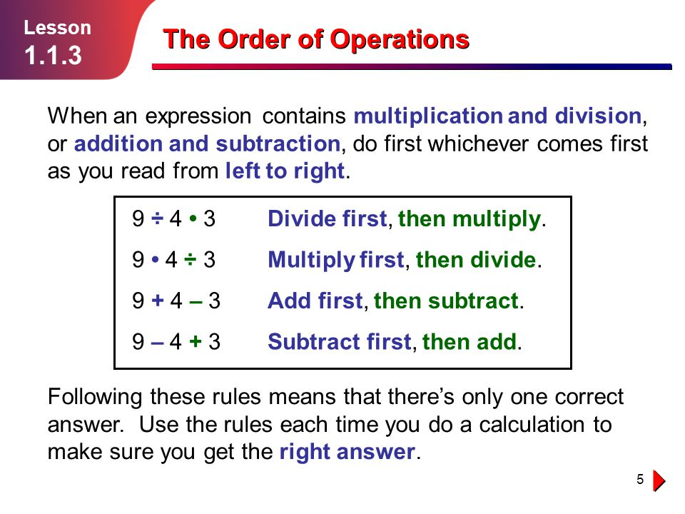 16 Independent Practice Lesson 1.1.3 The Order of Operations Solution follows… The local muffler replacement shop charges $75 for parts and $25 per hour for labor.