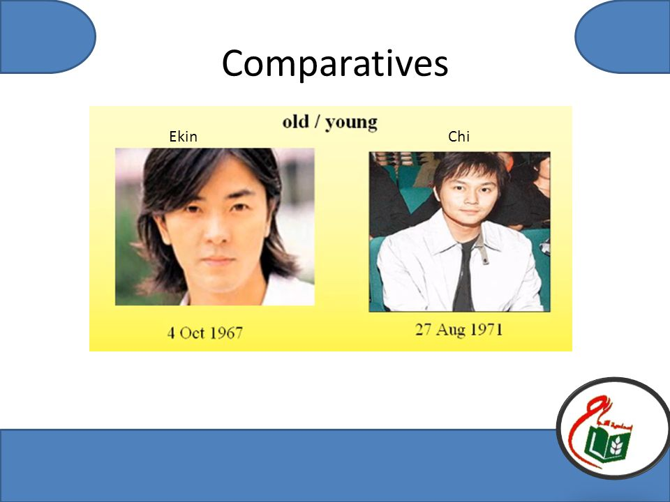 Comparatives EkinChi