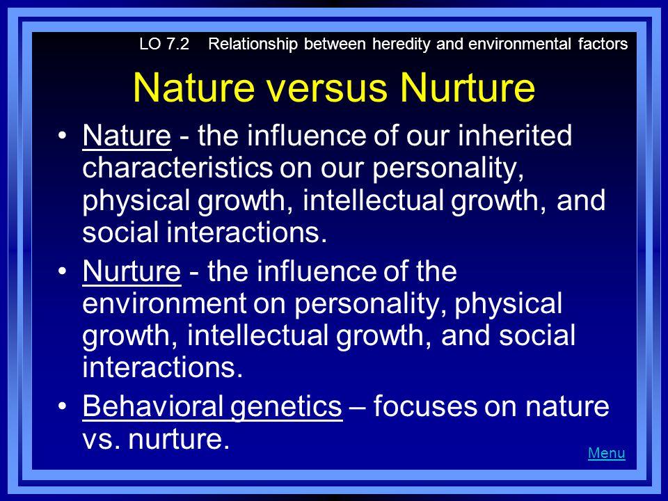 Genetics and Development Genetics - the science of inherited traits.