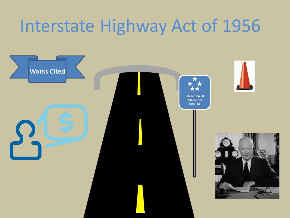 EISENHOWER INTERSTATE SYSTEM Interstate Highway Act of 1956 Works Cited