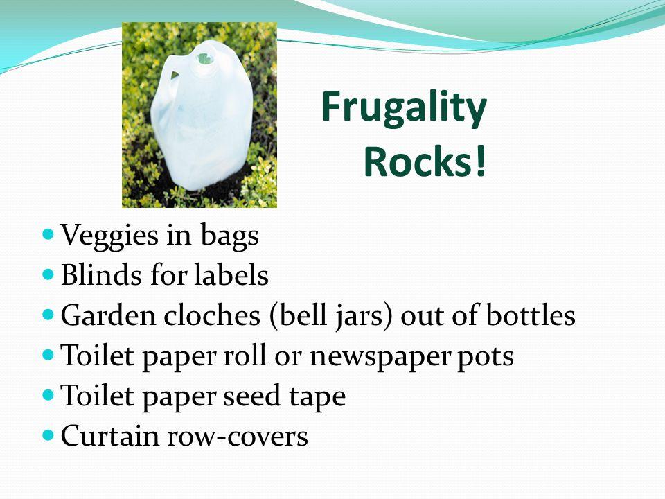 Frugality Rocks.