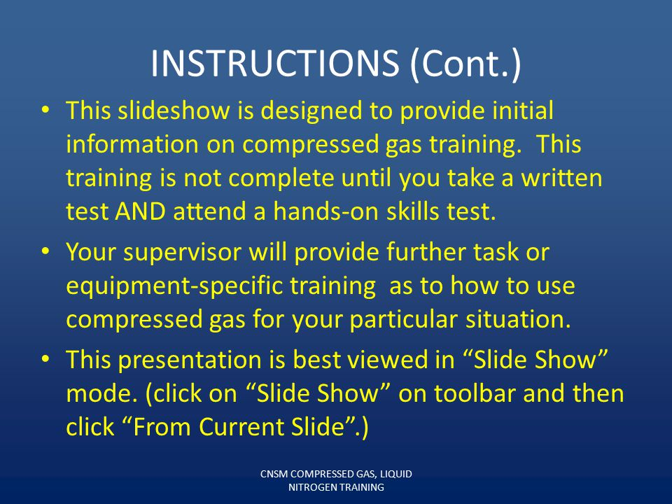 INSTRUCTIONS You have downloaded a copy of this power point presentation and a test. First, view this slide show. Second, print out and take the test.