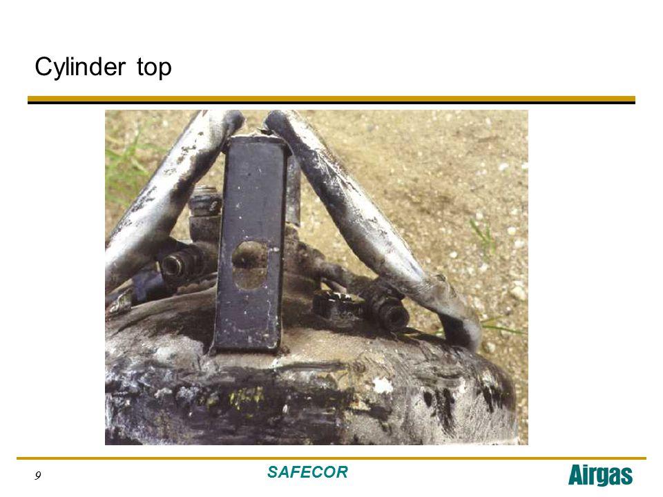 SAFECOR 10 Cylinder outer shell, bottom