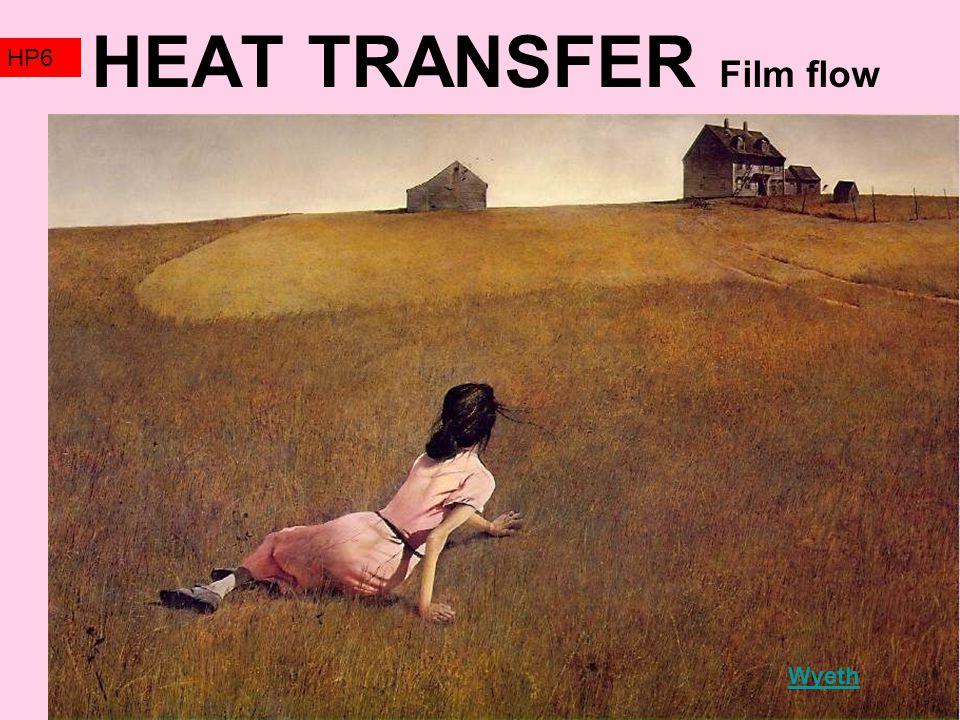 HEAT TRANSFER Film flow HP6 Wyeth