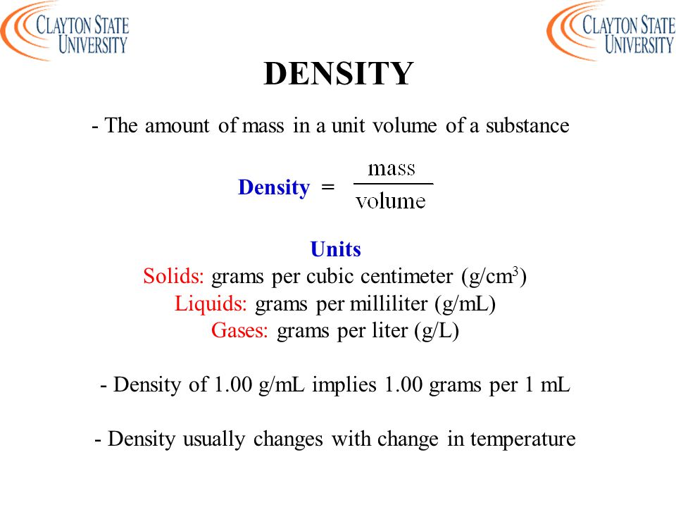 MASS MEASUREMENT - Mass is the amount of matter in an object - SI unit is the gram (g) - The mass balance is used to measure the mass of samples in the laboratory - The mass rather than the weight of a sample is measured
