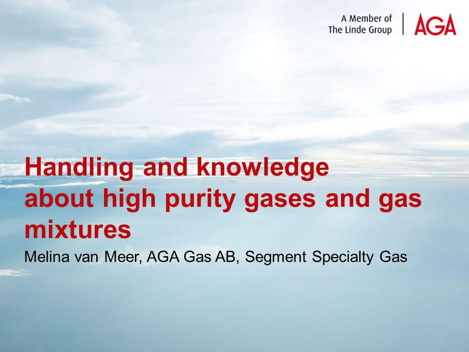 Storage of gas cylinders
