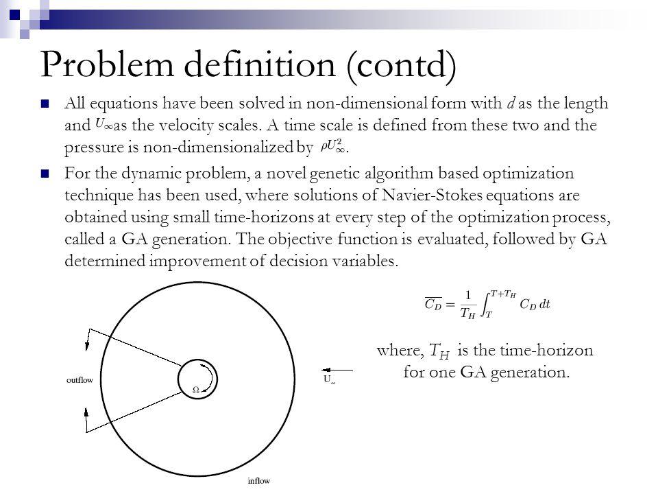 Time variation of C D and C L for Re = 15000, S f = 0.9 (C D ) Avg for Ω 1 = 1.5, is 0.7878 (C D ) Avg for Ω 1 = 2.0, is 0.4712 (C L ) Avg for Ω 1 = 1.5, is 0.4101 (C L ) Avg for Ω 1 = 2.0, is 0.6164