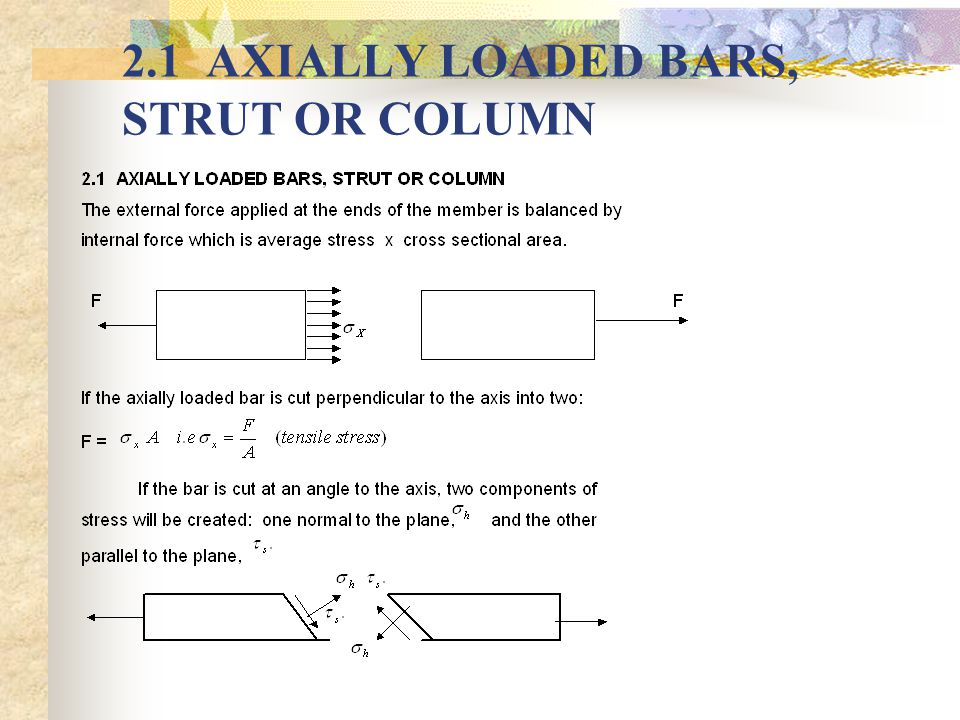INTRODUCTION A problem is said to be statically determinate if the stress within the body can be calculated purely from the conditions of equilibrium of the applied loading and internal forces.