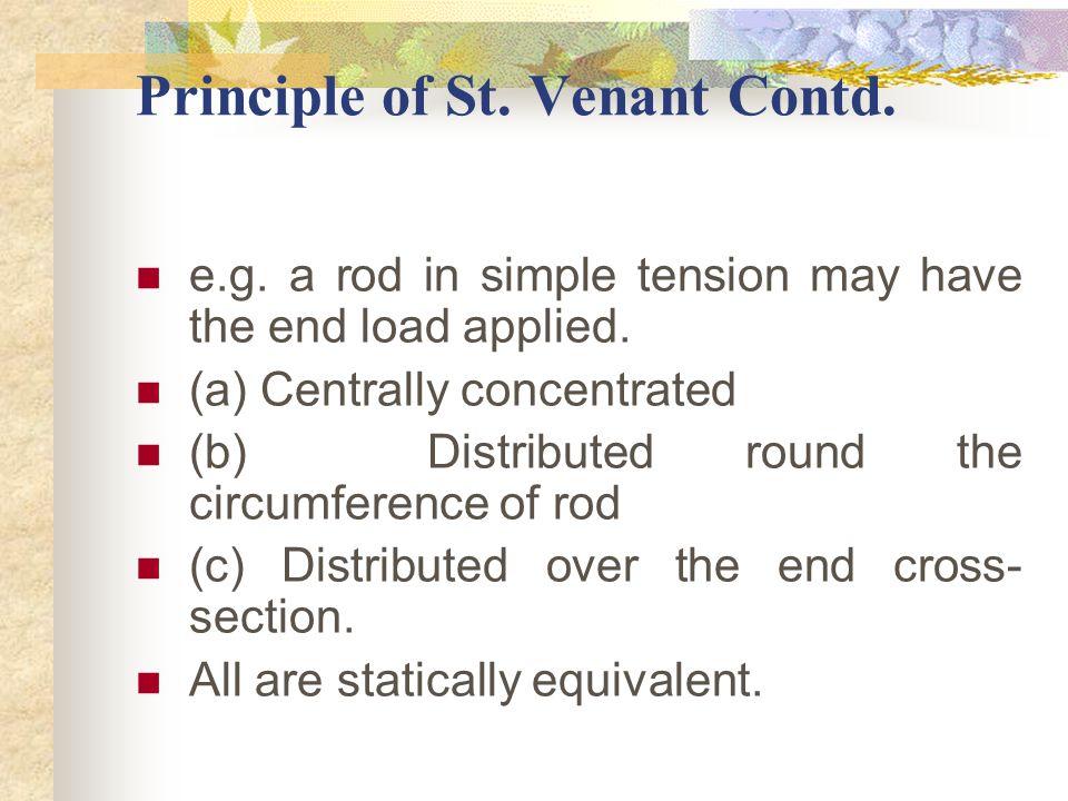 2.1.1.Principle of St.