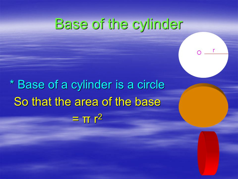 RECAPITULATION  A cylinder is made of circular discs  When a rectangle rotates through any side, it becomes a cylinder.
