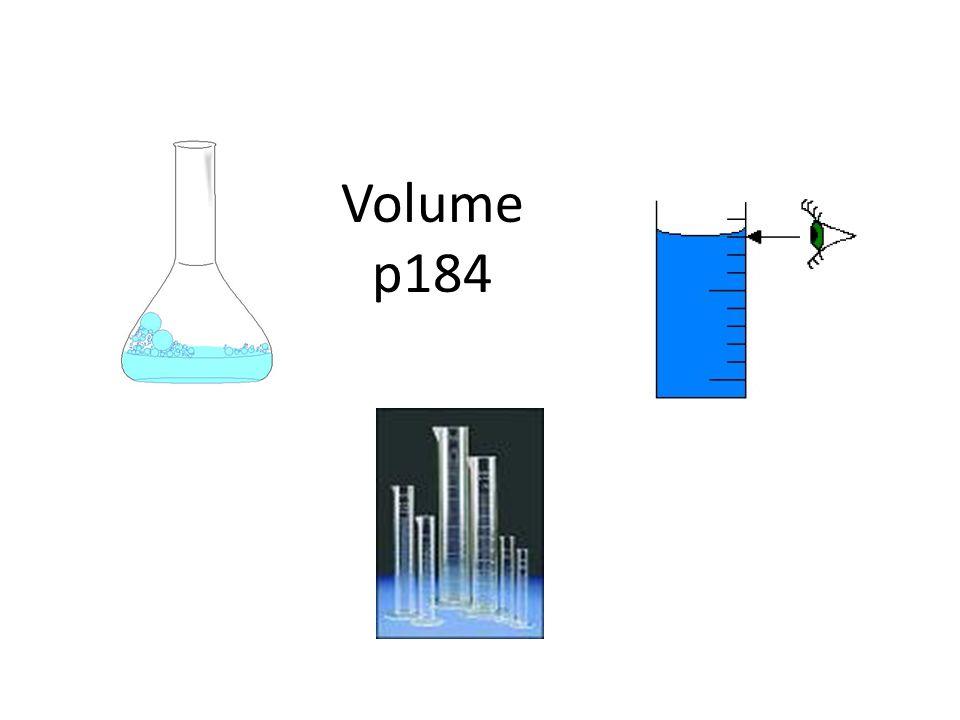 Volume p184