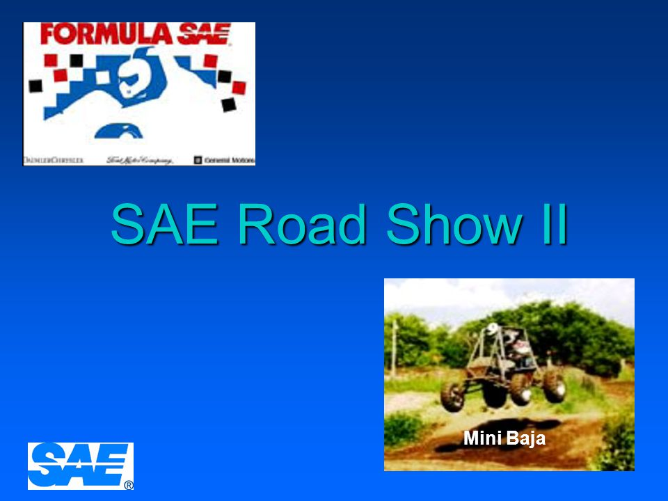 SAE Road Show II Mini Baja