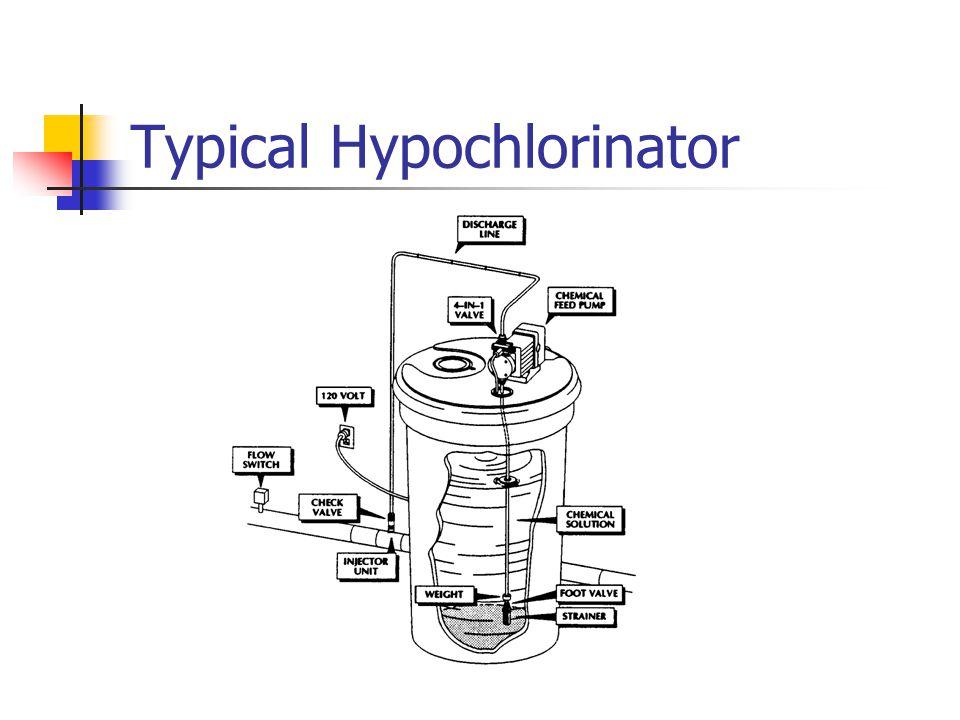 Typical Hypochlorinator