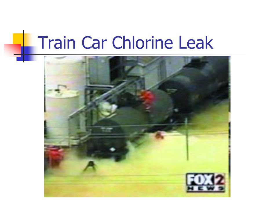 Train Car Chlorine Leak