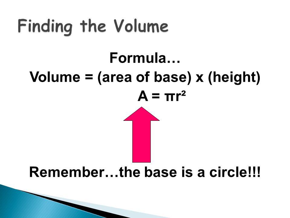 r = 5 cm h = 11 cm