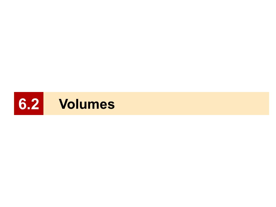 Volumes 6.2
