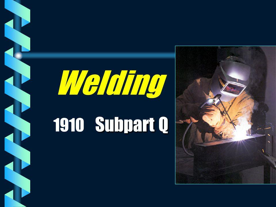 Subpart Q Welding 1910 Subpart Q