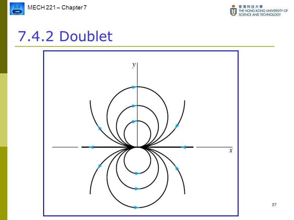 MECH 221 – Chapter 7 37 7.4.2 Doublet