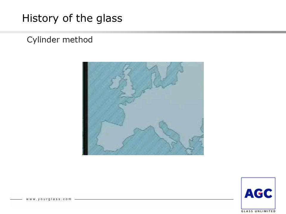History of the glass Cylinder method