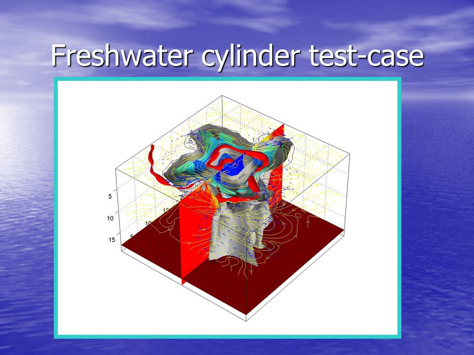 Freshwater cylinder test-case