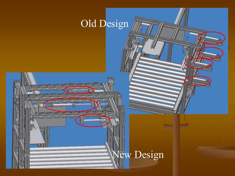 Old Design New Design