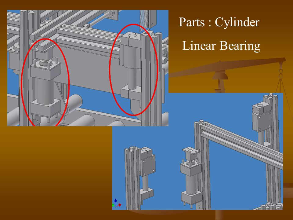 Parts : Cylinder Linear Bearing