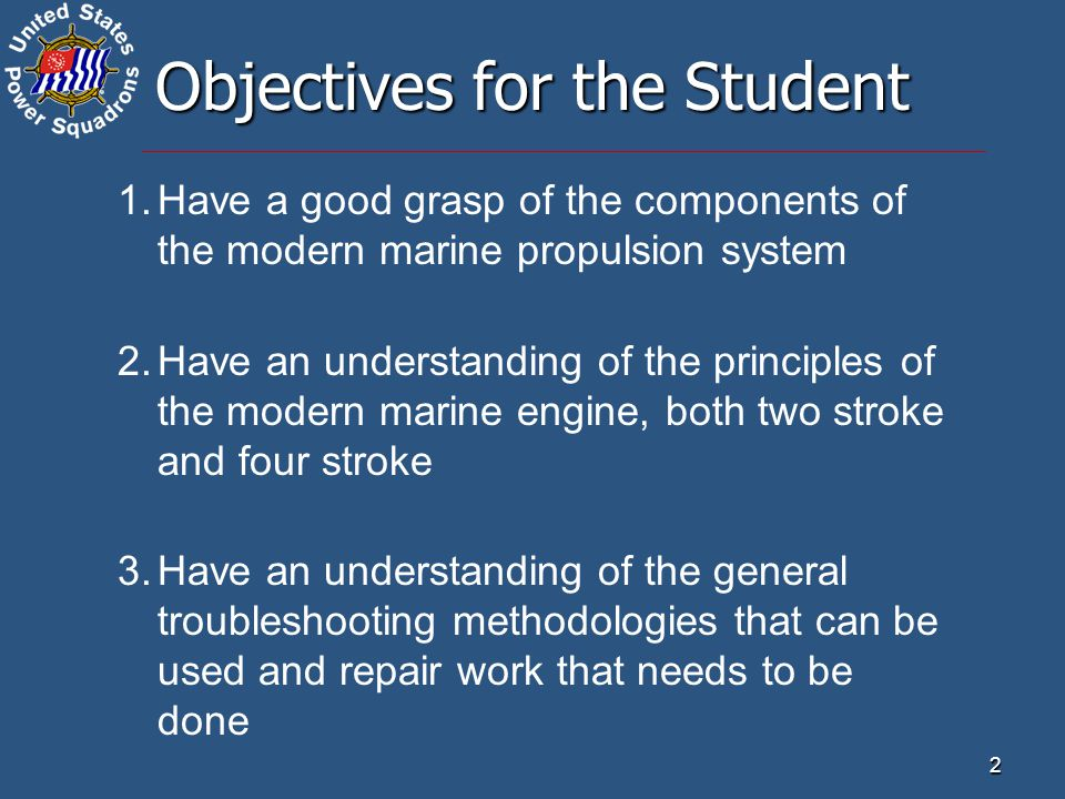 23 The Marine Drive System Inboard Systems