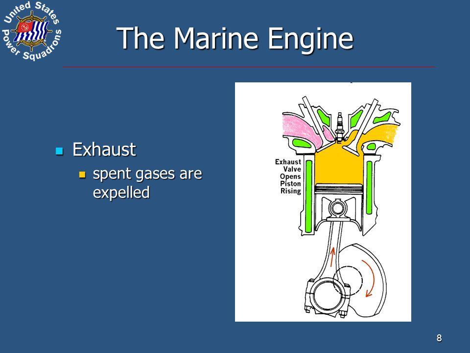 9 The Diesel Engine Intake Intake air enters the combustion chamber air enters the combustion chamber