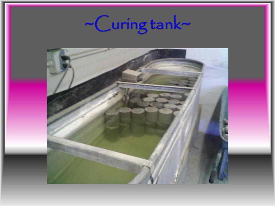 ~Curing tank~