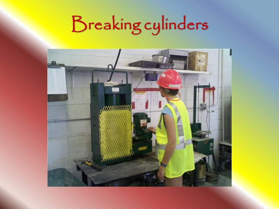 Breaking cylinders