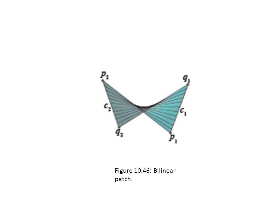 Figure 10.46: Bilinear patch.