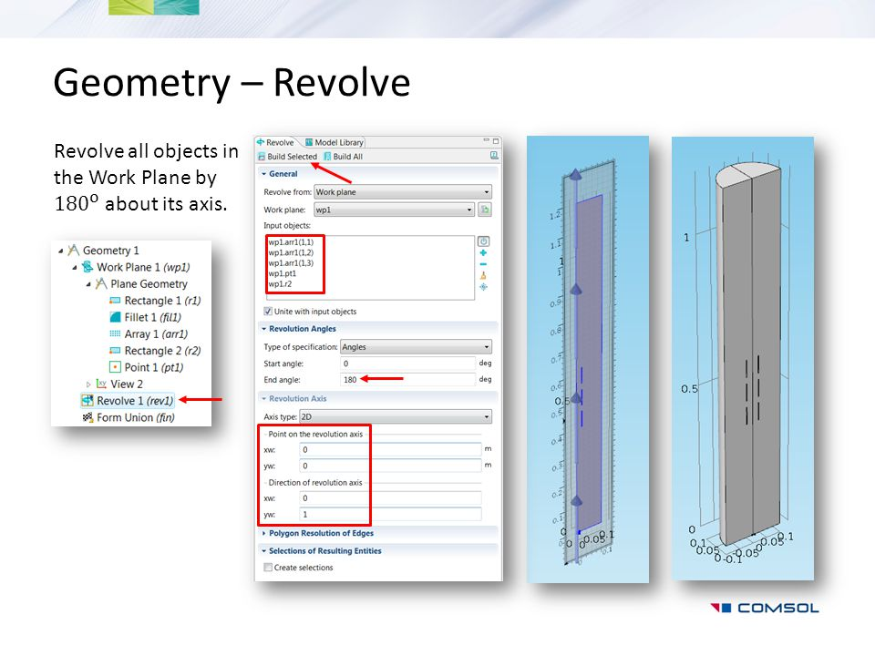 Geometry – Revolve