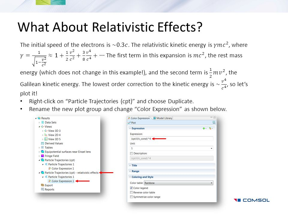 What About Relativistic Effects?