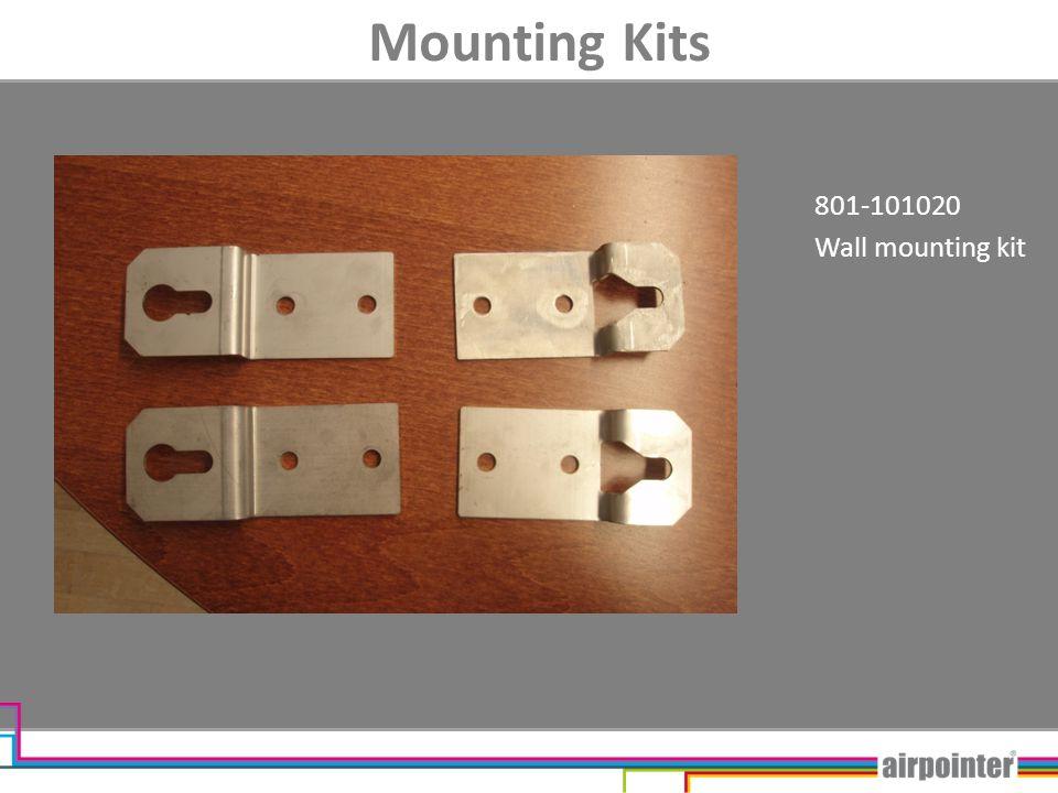 Mounting Kits 801-101020 Wall mounting kit