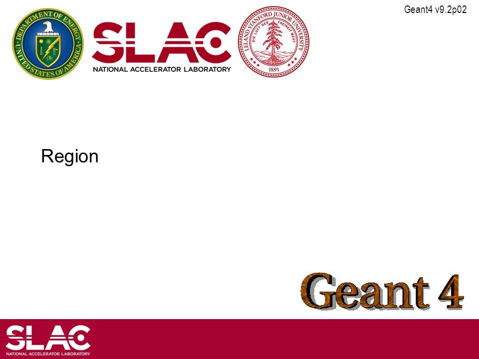 Geant4 v9.2p02 Region