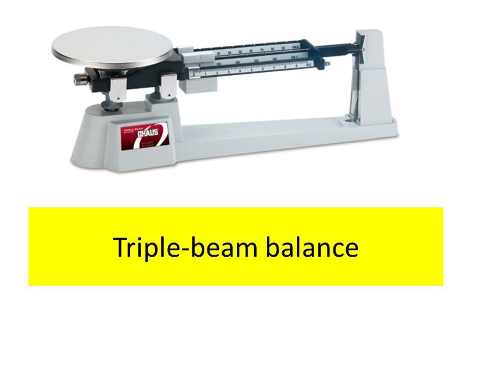 Triple-beam balance