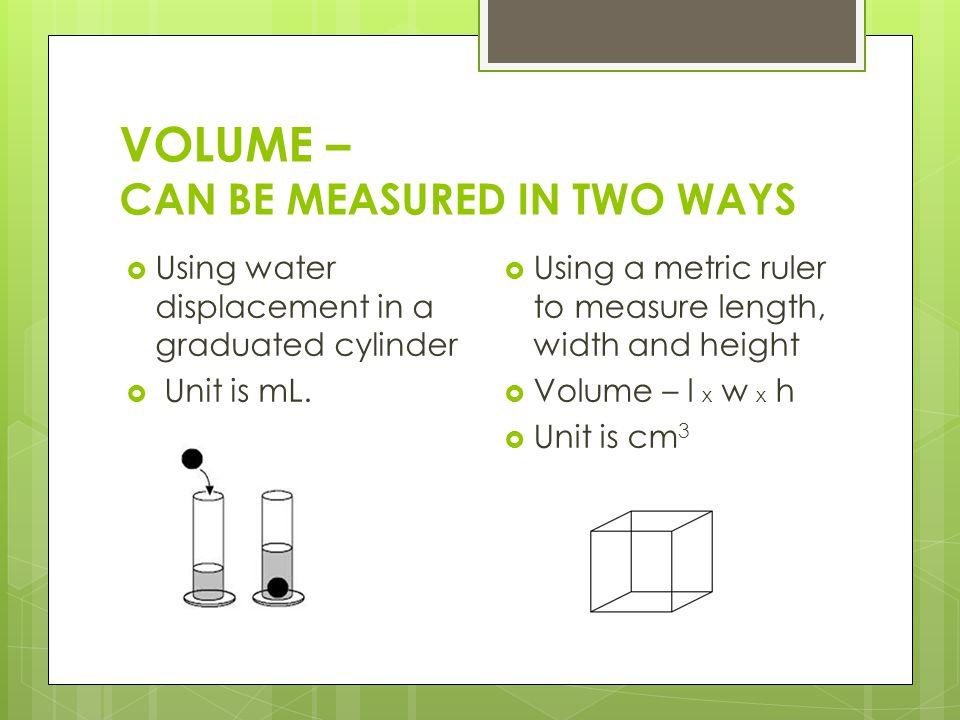 I am a metric ruler, I measure ______ in units of _____.