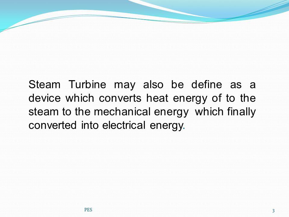 REACTION TURBINE PRINCIPLE PES STEAM CHEST ROTOR 24