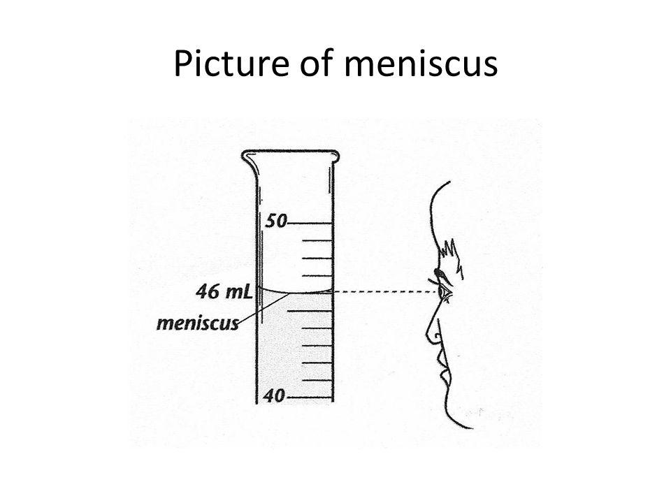 Picture of meniscus