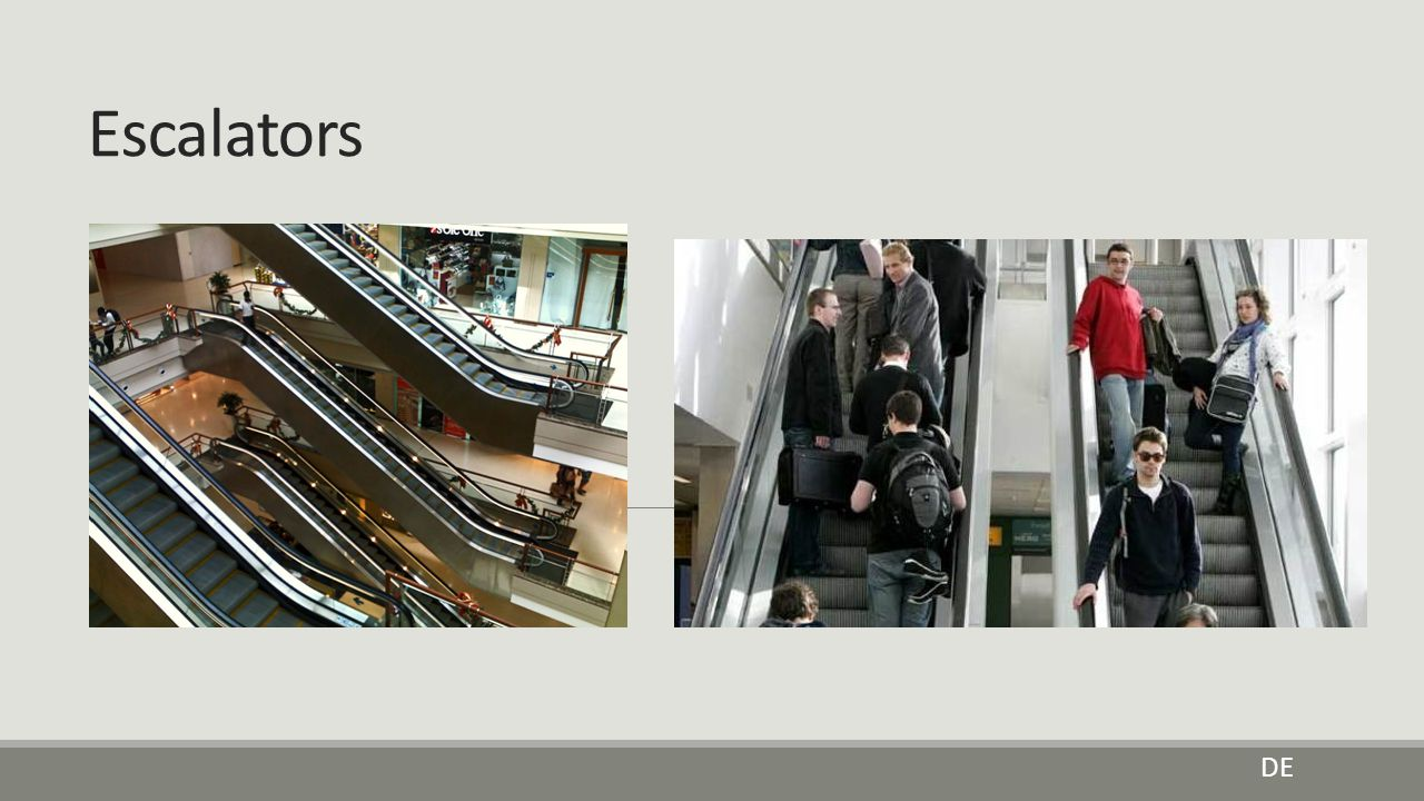 Escalators DE