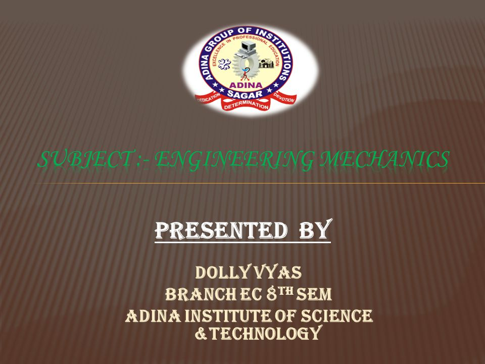 PRESENTED BY Dolly vyas Branch EC 8 TH SEM Adina institute of science &technology
