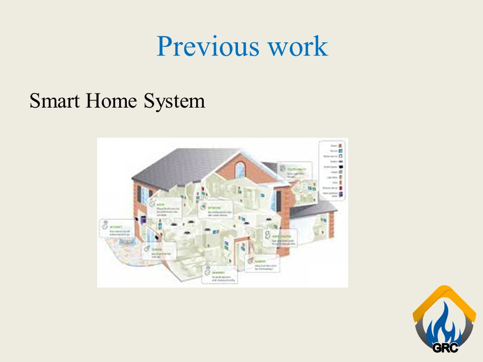 Previous work Smart Home System