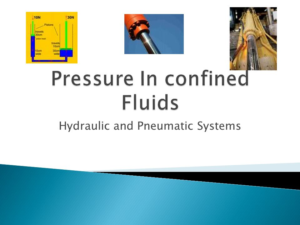  They are fluids in a closed system.