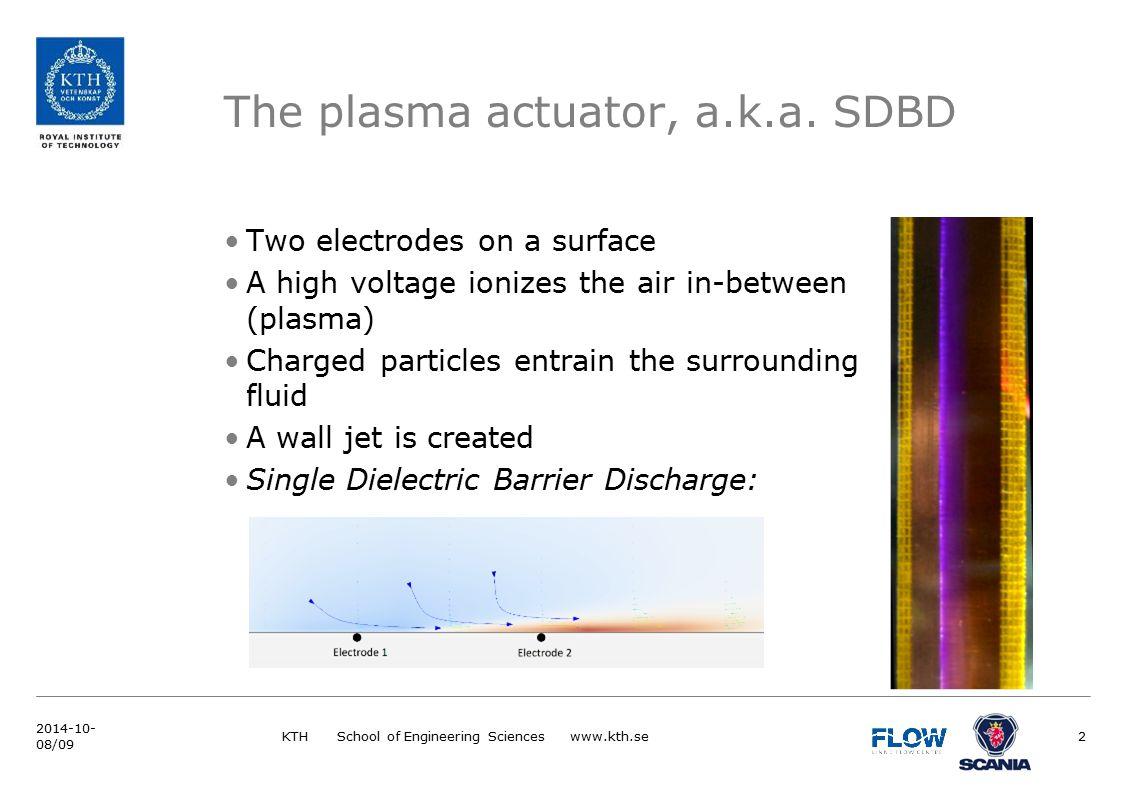 The plasma actuator, a.k.a.