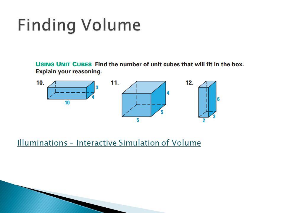 Illuminations - Interactive Simulation of Volume