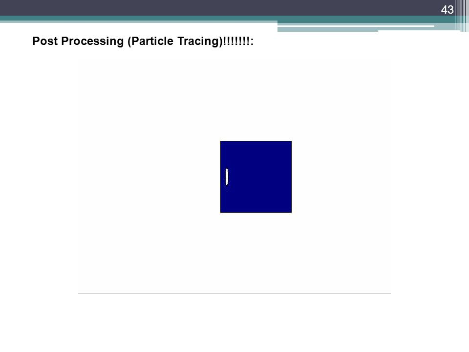 43 Post Processing (Particle Tracing)!!!!!!!: