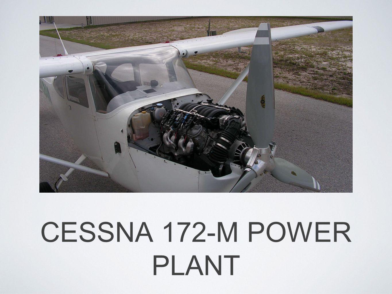 CESSNA 172-M POWER PLANT